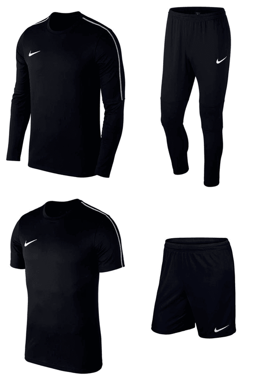 4-teiliges Nike Trainingsset Park 18 (Longsleeve, Hose, Shirt und Shorts) für 39,90€ inkl. VSK (statt 60€)