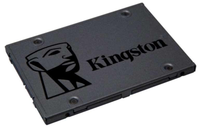 Kingston A400 SSD mit 960GB Speicher (TLC, 2.5 Zoll, SATA600) für 89€ inkl. Versand (statt 106€)