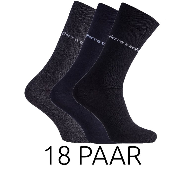 18er-Pack Businesssocken (Herren) von Pierre Cardin für 27,99€ inkl. Versand