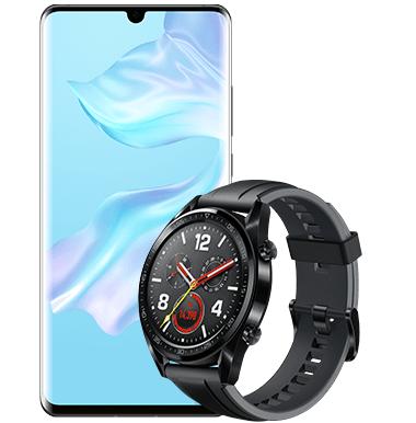 Huawei P30 Pro + Huawei Watch GT Sport Edition + o2 Free M 20GB für 39,99€ mtl.