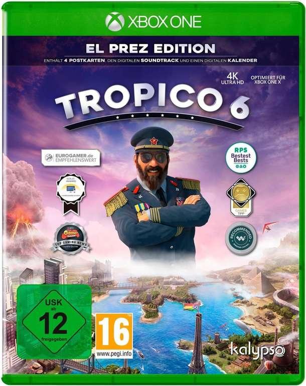 Tropico 6 - El Prez Edition (Xbox One, Playstation 4) für je 21,98€ inkl. Versand (statt 36€)