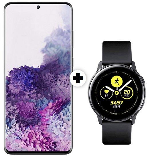 Samsung Galaxy S20 (49€) inkl. Watch Active mit Vodafone 26GB LTE Allnet-Flat für 39,99€ mtl.