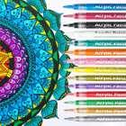 Nasum Acryl Marker Stifte in 14 Farben (0,7 mm, wasserfest) für 7,79€ inkl. Prime Versand (statt 13€)
