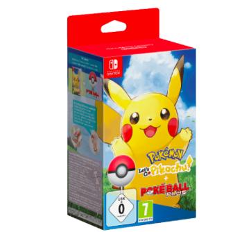 Pokémon: Let's Go, Pikachu + Pokéball Plus (Switch) zu 49€ (Vergleich: 77€)