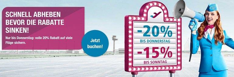 Eurowings Rabatt