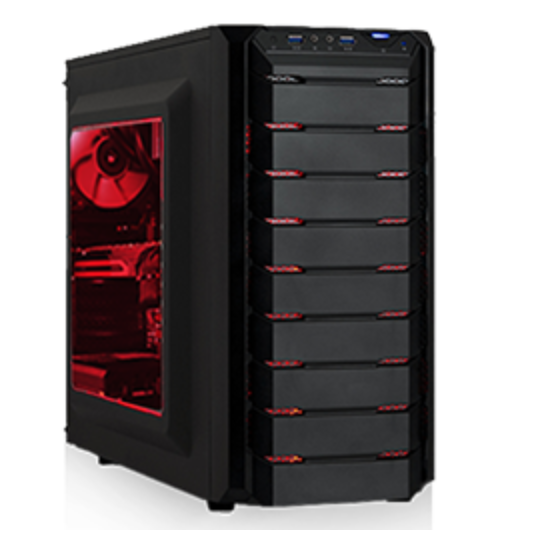 Agando fuego 3656r5 Gaming Rechner (Ryzen 5, 16GB RAM, 512GB SSD) für 749,90€