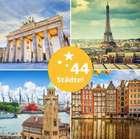 3 Tage Kurzurlaub für 2 Personen in einem von 60 Hotels in ganz Europa für 98€