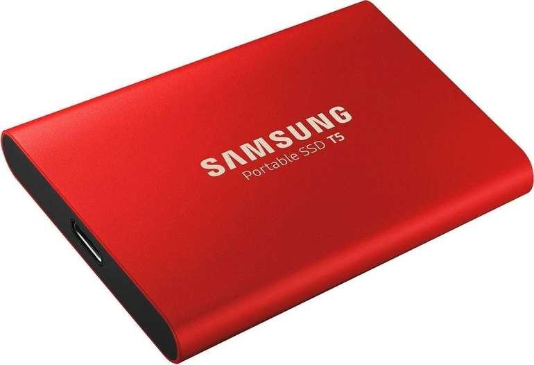 """Samsung Portable T5 - Externe 2,5"""" SSD mit 1 TB Speicher für 109€ inkl. Versand (statt 146€) - Newsletter!"""