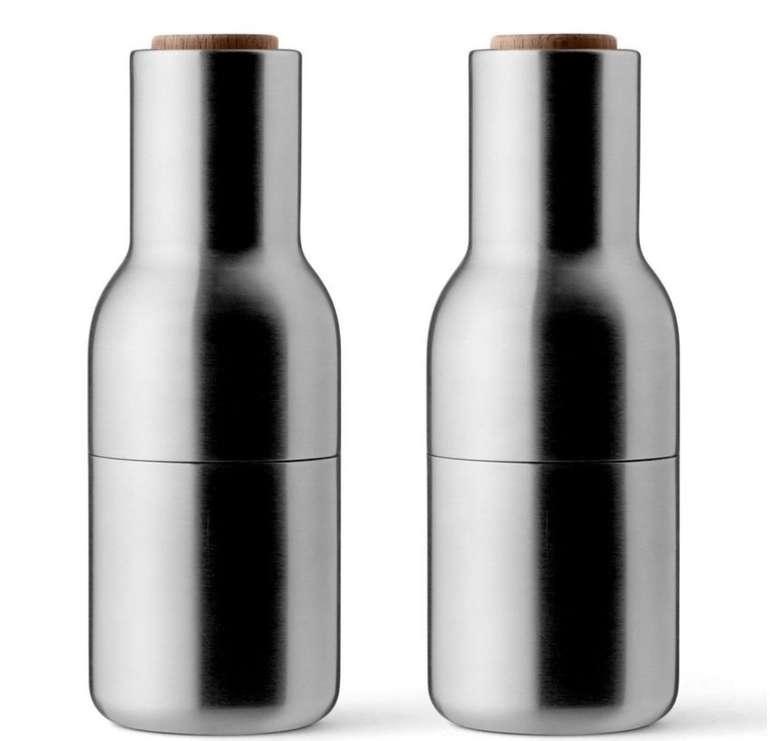 2er Set Menu Bottle Grinder Pfeffermühle und Salzmühle für 26,90€ (statt 40€) - PayDirekt!