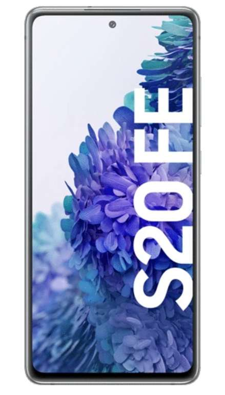 Samsung Galaxy S20 FE mit 128 GB + Nest Hub (7€) mit o2 Free M Aktion 20 GB LTE für 23,99€ mtl.