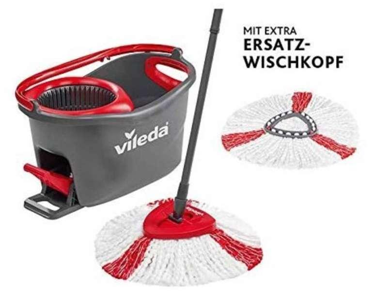 Vileda Turbo EasyWring & Clean Komplettset + Ersatzkopf für 32,99€ (46€)
