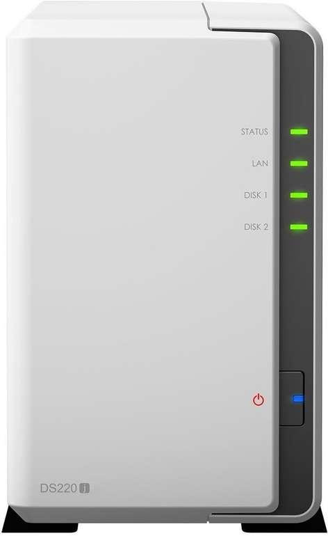 Synology DS220j NAS 2-Bay 6TB für 181,78€ (statt 287€)