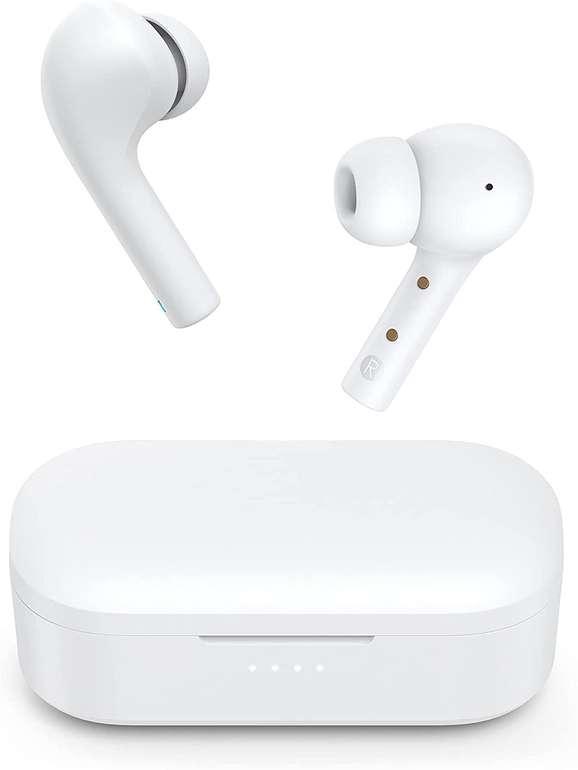 Bluvolt T21S-W Bluetooth Kopfhörer (IPX6) für 15,95€ inkl. Prime Versand (statt 27€)