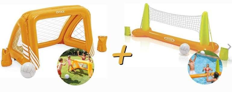 "Intex Poolgame ""Fun Goals"" mit Tor + Ball & Poolgame ""Volleyball"" für 28,90€inkl. Versand (statt 35€)"