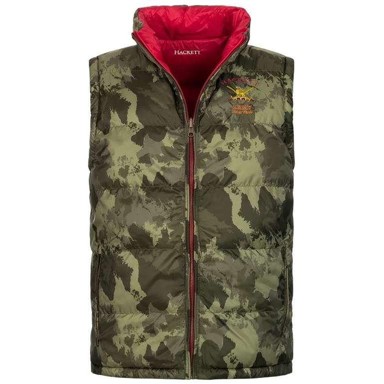 Hackett London Army Camouflage wendbare Herrenweste für 69,99€ inkl. Versand (statt 150€)
