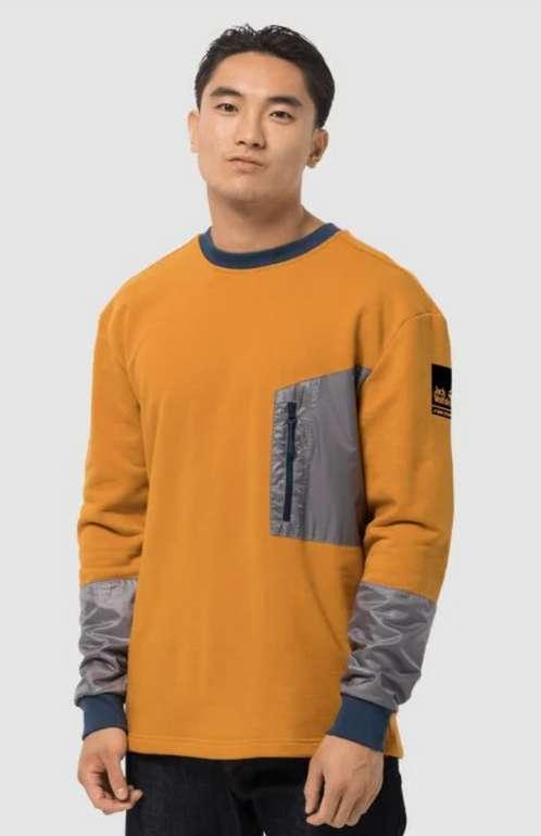 Jack Wolfskin 365 Thunder Pocket Crew Herren Sweater für 42,90€ inkl. Versand (statt 51€)