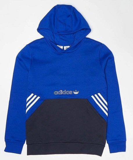 adidas Originals Kinder Hoodie team royal blue/legend für 27,99€ (statt 34€)