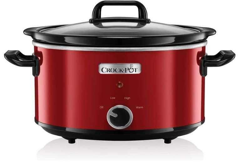 Crock-Pot Schongarer Slow Cooker (2 Temperatureinstellungen + Warmhaltefunktion, 3,5 Liter) für 29,99€