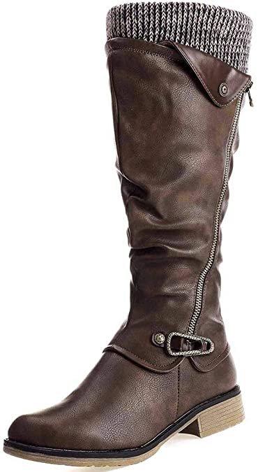 Camfosy gefütterte Damen Stiefel für 29,69€ inkl. Versand (statt 47€)