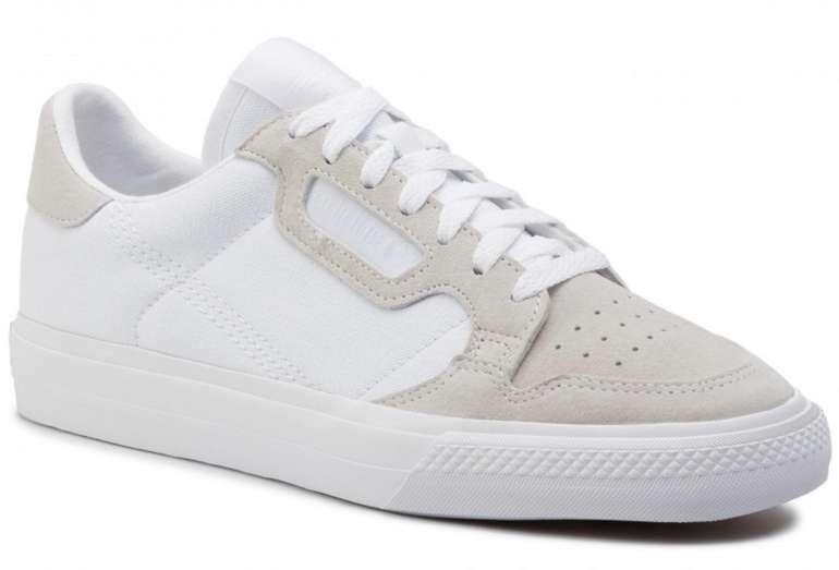 adidas Continental Vulc Herren Sneaker in weiß für 41,93€ inkl. Versand (statt 64€)