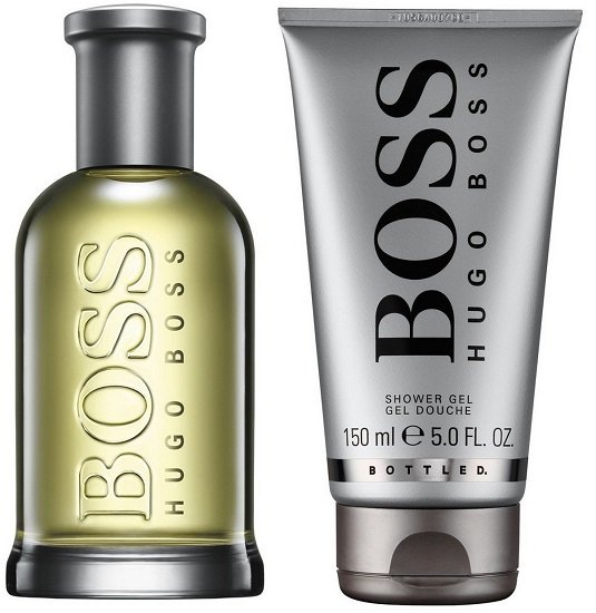 Hugo Boss Bottled Eau de Toilette 100ml + Boss Bottled 100ml Duschgel für 37,36€ (statt 44€)