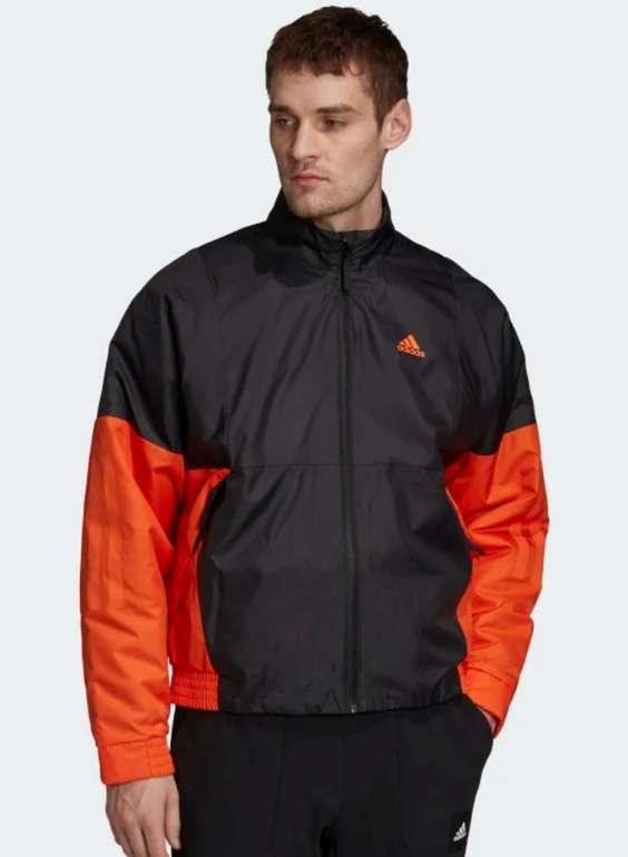 """adidas """"Back to Sport Lite Insulated"""" Herren Jacke in schwarz/orange für 35,98€inkl. Versand (statt 50€)"""