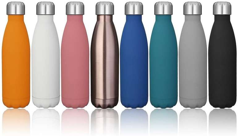 Letfit doppelwandige Edelstahl Thermosflasche mit 500 ml für 4,99€ inkl. Prime Versand (statt 10€)
