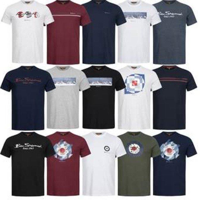 Verschiedene Ben Sherman Herren T-Shirts für ab 13,94€ inkl. Versand (statt 20€)