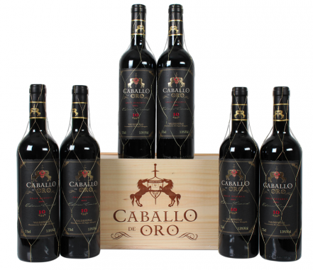 6er Paket OHK Caballo de Oro - Gran Reserva - Valdepeñas DO für 41,94€ inkl. VSK