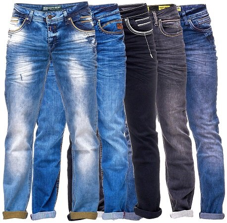 Rusty Neal Regular Fit Herren Jeans für 29,95€ inkl. VSK