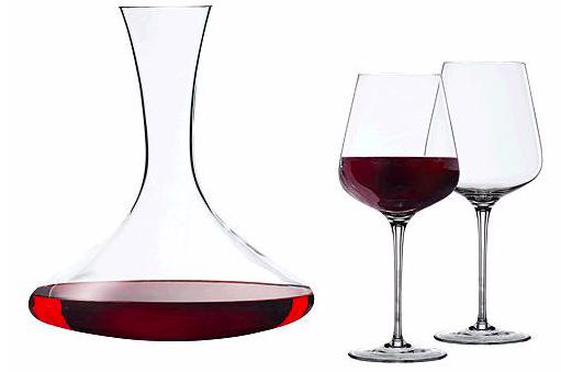 3-tlg. Spiegelau Toscana Dekanter Set für 28,93€ inkl. Versand (statt 34€)