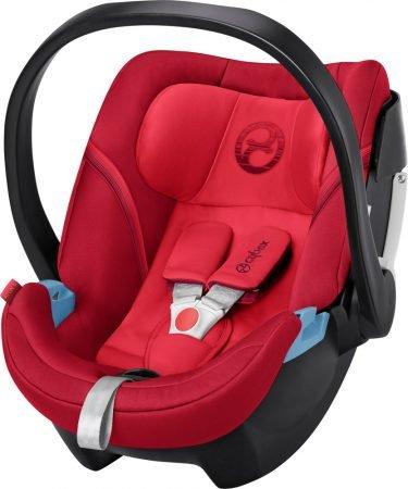Cybex Babyschale Aton 5 in Rebel Red für 89,95€ inkl. Versand