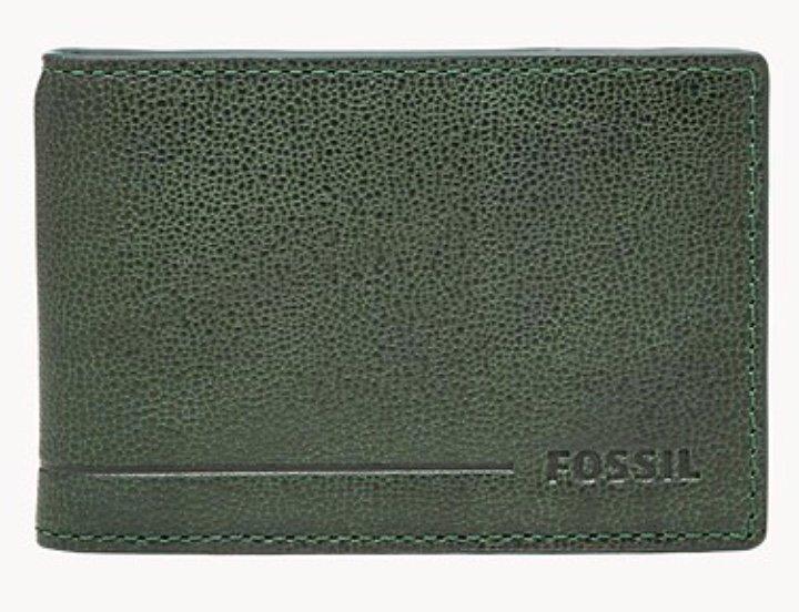 Fossil Herren Geldbörse Aleck - Front Pocket Bifold für 10,11€ inkl. Versand (statt 25€) - Newsletter!