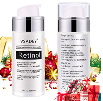 50ml Vsadey Retinol Anti-Aging Feuchtigskeitcreme ab 8,49€ inkl. Versand (Prime)