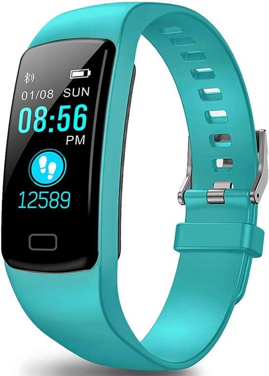 Polywell wasserdichter Fitness Tracker (Herzfrequenz, Schrittzähler) für 12,91€ inkl. Prime Versand