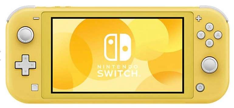 Nintendo Switch Lite Konsole in gelb für 170,99€ inkl. Versand (statt 195€) - bei Zahlung mit Paydirekt