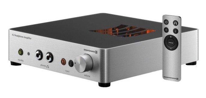 Beyerdynamic A2 Kopfhörerverstärker (16 bis 600Ω, 2x 6,35mm Klinke, 1Hz bis 100kHz) für 999€