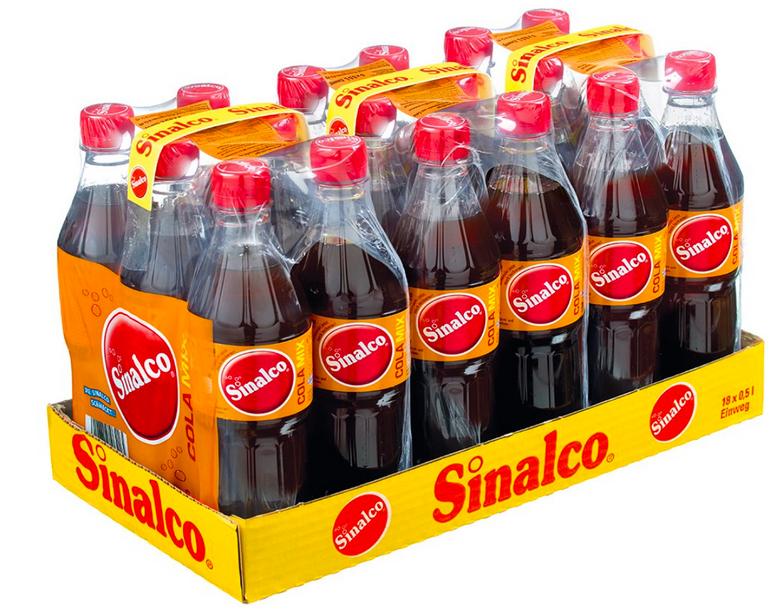Sinalco Cola Mix 18er Pack (18 x 500 ml) für 8,88€ inkl. Versand (statt 12€)