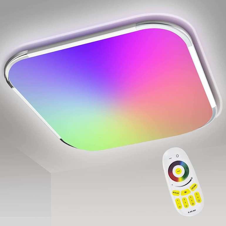 Traminy RGB LED Deckenleuchten reduziert, z.B. 24W für 23,99€ (statt 40€)