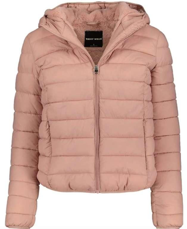 Pinke Daunenjacke mit künstlichem Pelz für 26,49€ inkl. Versand (statt 40€) - nur in S und M!