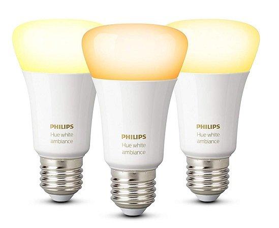 Top! 3er Pack Philips Hue White Ambiance E27 für nur 44,95€ (statt 60€)