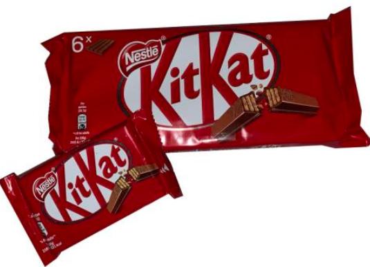 MHD-Ware: 60 Riegel Nestle Kitkat 4 Fingers für 16,90€ (statt ca. 30€)
