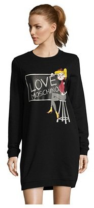 Love Moschino Sale mit bis -65% Rabatt - z.B. Damenkleid mit Aufdruck für 87€
