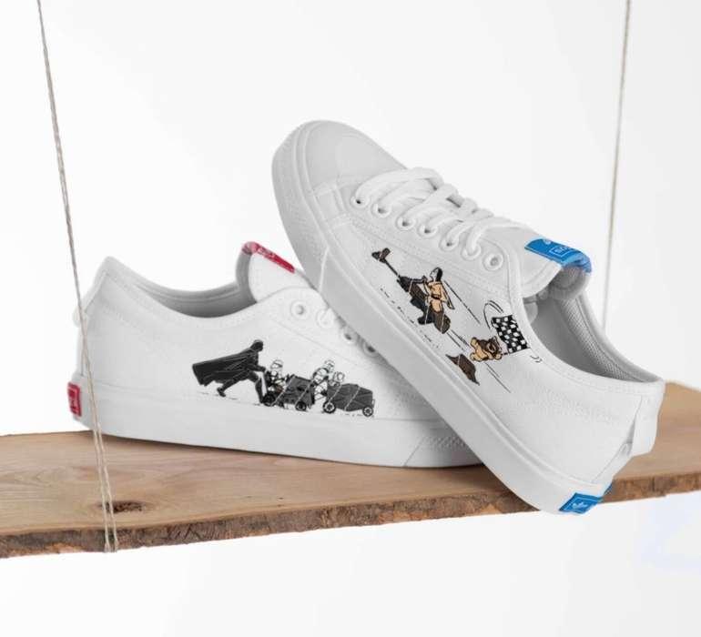 Adidas Nizza X Star Wars Low Sneaker für 41,90€ inkl. Versand (statt 50€)