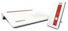 AVM FRITZ!Box 7590 DSL Router + FRITZ!WLAN Repeater 1750E für 220,99€ (MM Club)