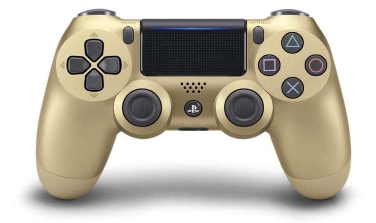 Sony PlayStation 4 DualShock 4 Wireless Controller V2 (gold) für 39,99€ (statt 62€)