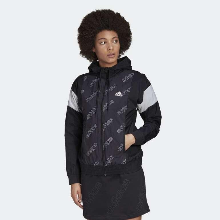 Adidas Damen Graphic Windbreaker für 28,78€ inkl. Versand (statt 36€)