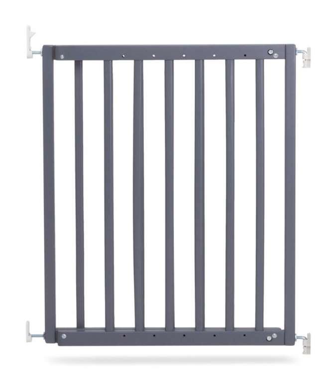 Geuther Tür- und Treppenschutzgitter 63 - 103,5 cm grau für 40€ inkl. Versand (statt 55€)