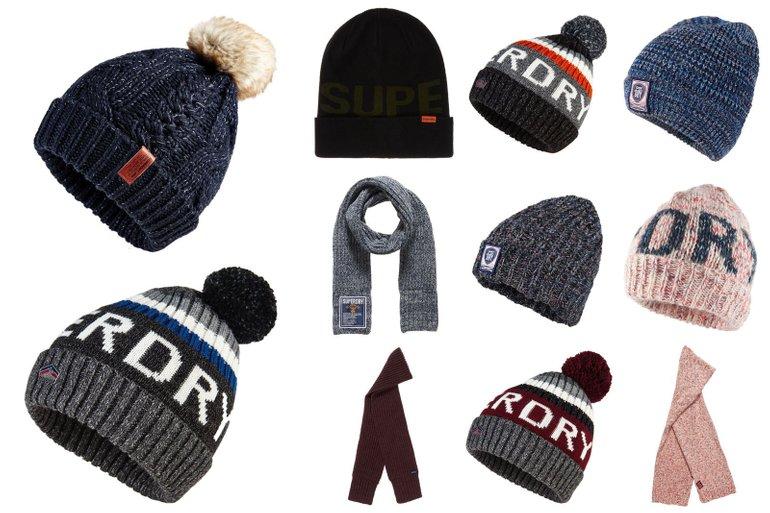 Superdry Winter Accessoires (versch. Modelle) für je 12,95€ inkl. Versand