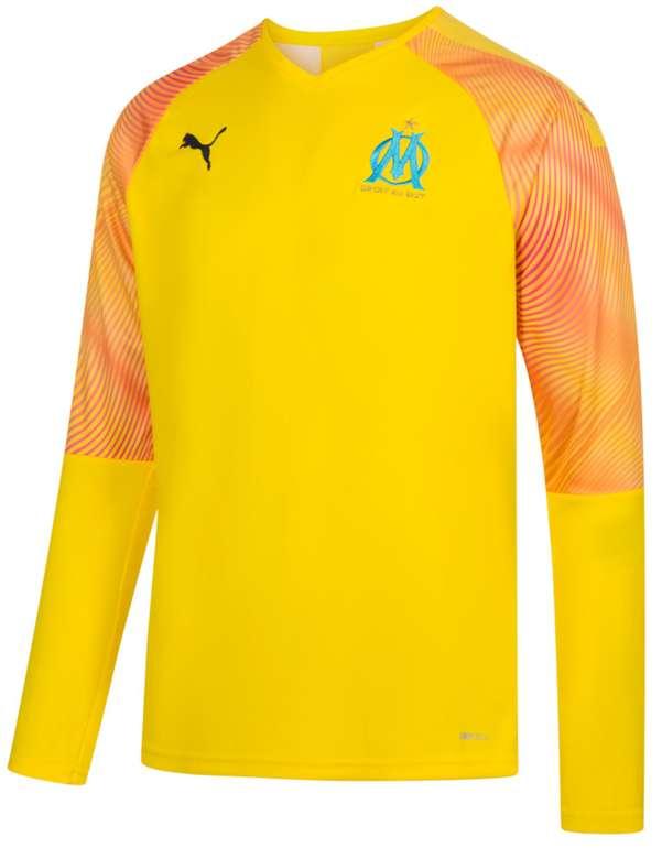 Olympique Marseille Fanartikel Sale bei SportSpar - z.B. Puma Herren Torwarttrikot für 28,94€ (statt 40€)